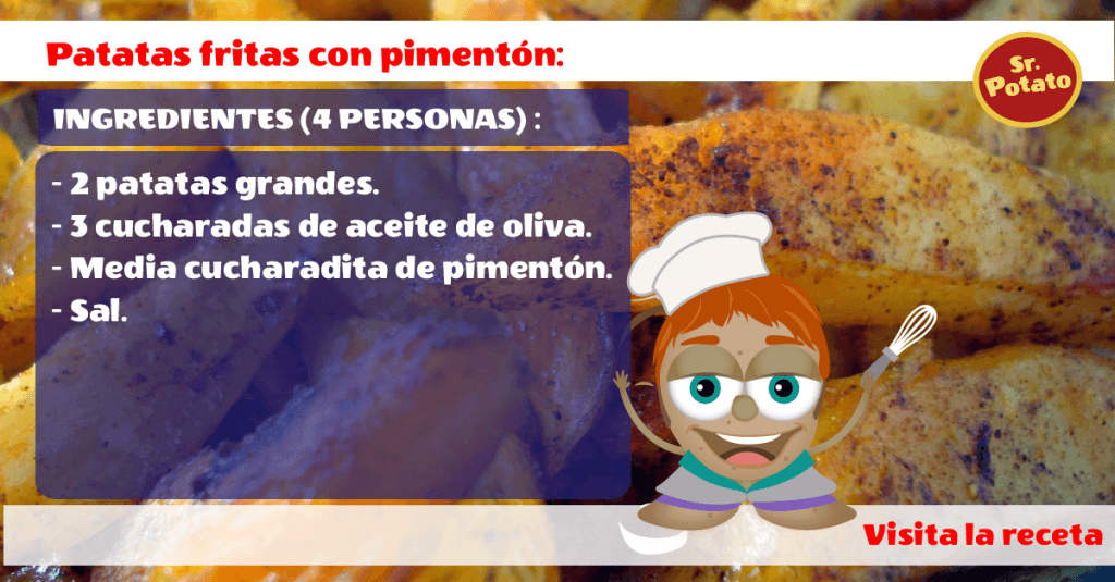 Unas Ricas Patatas Con Pimentón, Al Estilo Potato
