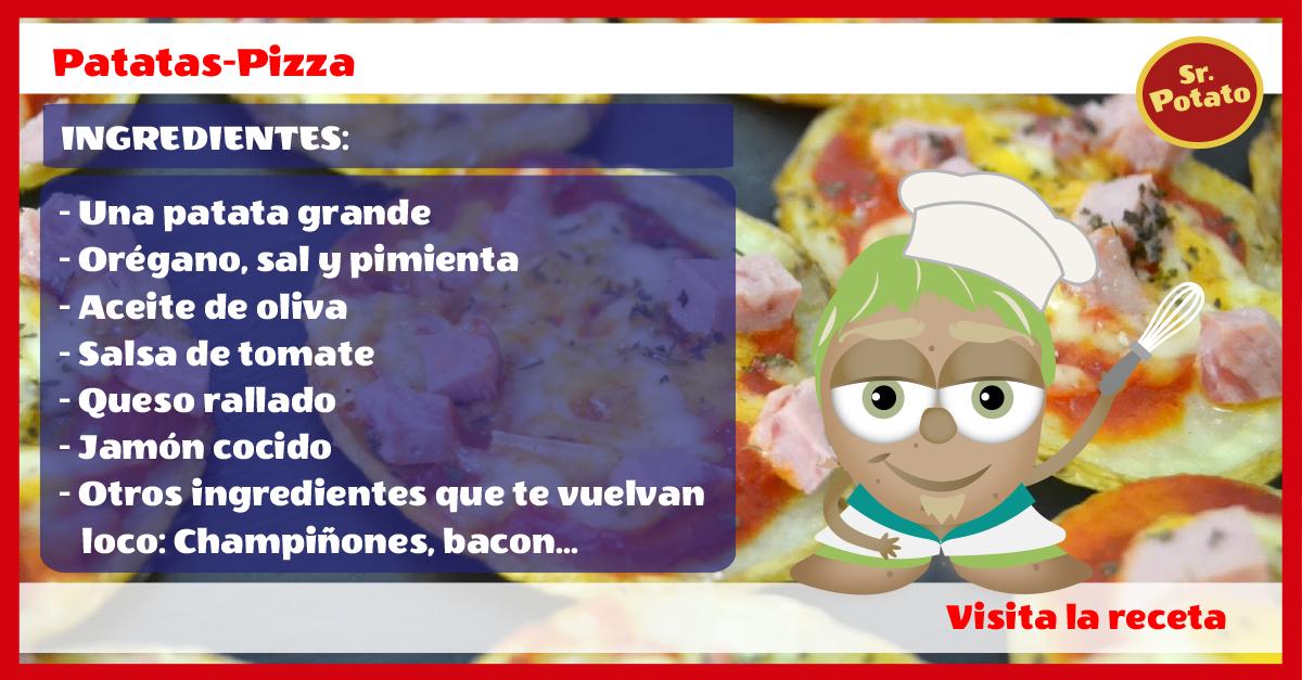 Patata-Pizza Al Estilo Sr. Potato