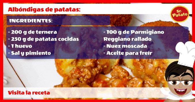 Albóndigas De Patatas Y Ternera