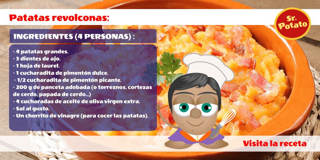 Patatas Revolconas Al Estilo Potato: Potatos Revolcones.