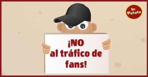 ¡No Al Tráfico De Fans!