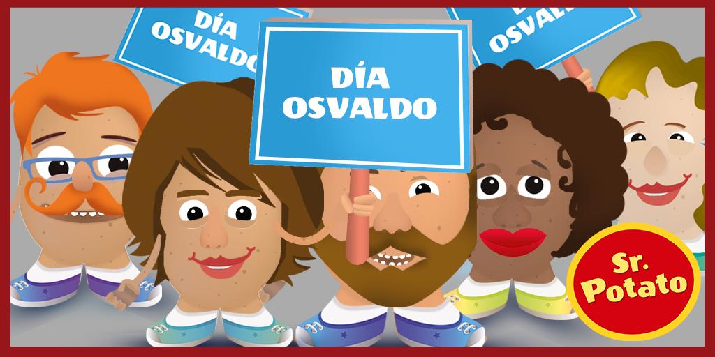 ¡Queremos Un Día Osvaldo! ¡Queremos Un Día Osvaldo!