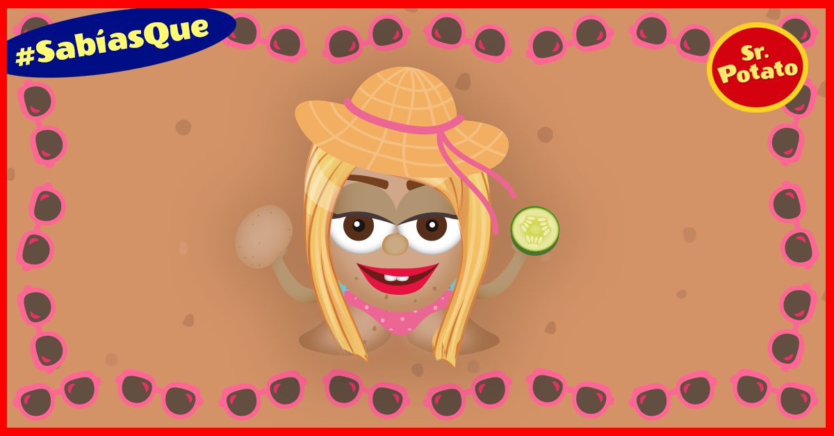 ¿Sabías Que La Patata Elimina Las Manchas De La Cara?