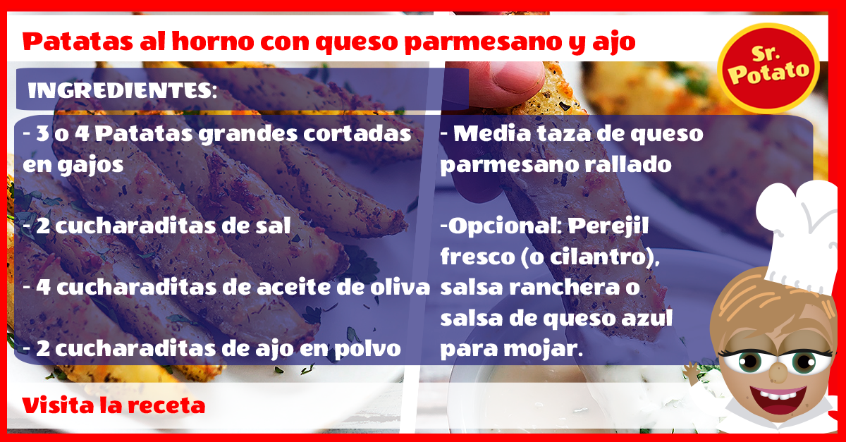 Receta Patatas Marketing Digital Caseras Agencia Publicidad Sr Potato Señor Potato