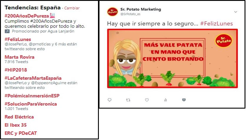 Sr. Potato Twitter Marketing