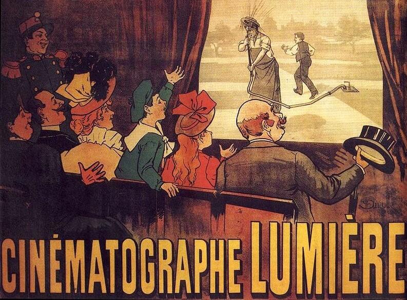 La evolución del diseño gráfico - Hermanos Lumière
